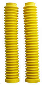 Yellow-Fork-Gaiters-for-Suzuki-DRZ400-all-Models