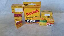 Kodak Expired Film Lot, 1985,86,90 Tri-x Pan, Kodachrome, Plus-x Pan