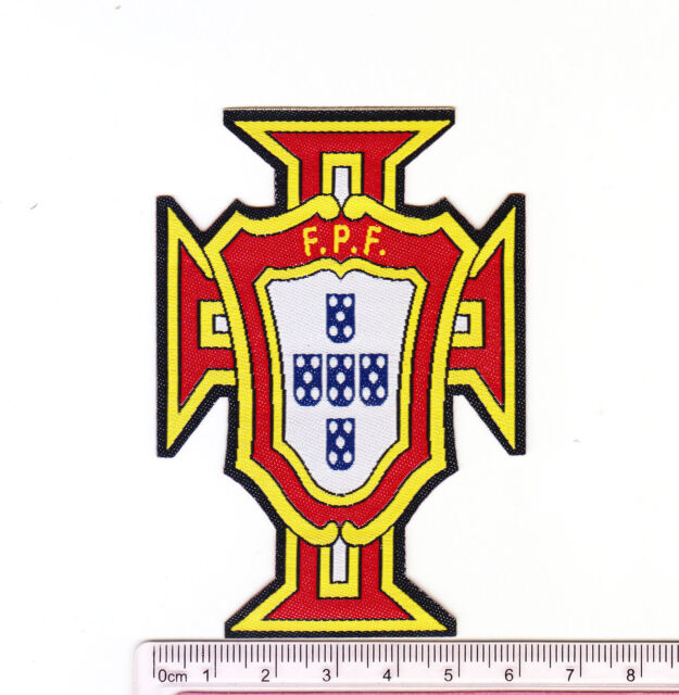 Kitki Portugal Soccer Team Football Iron On Embroidered Patch Emblem