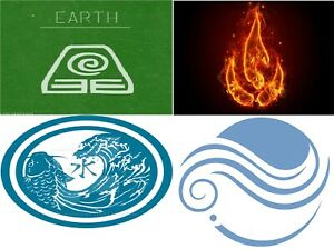 BRAND-New-4-Elements-Photo-Picture-Earth-Fire-Water-Air-Positive-FB-100-fast4