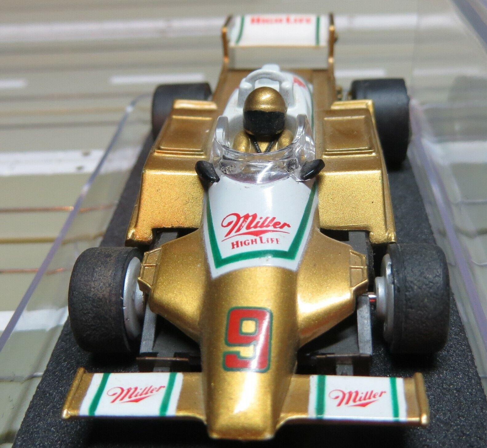 Para H0 Coche Slot Racing Racing Racing Maqueta de Tren Fórmula 1   Indy con Tyco Motor Motor  comprar marca