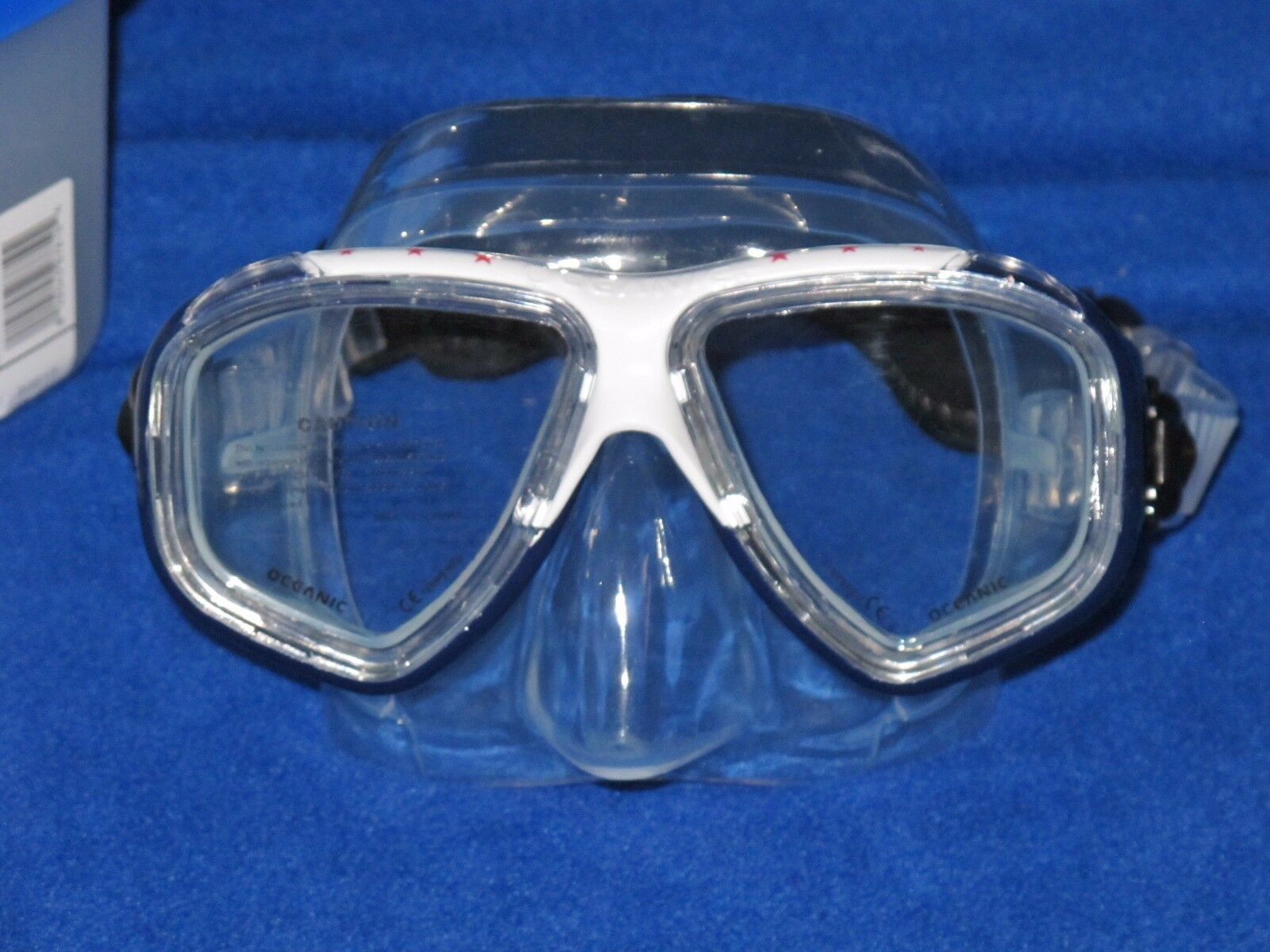 Oceanic Ion scuba diving and snorkeling Mask with Neo strap USA Edition
