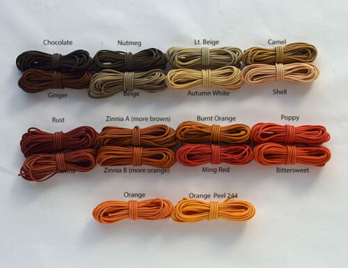 1.8mm Julius Koch Professional Lift Shade Cord (Orange and Brown)