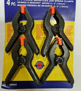 "Micro prensa de resorte 3/4"" 19mm  4 unidades ref.102252"