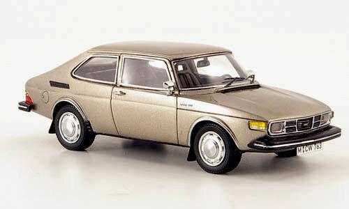 Maravilloso MODELCAR Saab 99 I Combi Coupe 1975-bronce alcanzado. escala 1 43 - ltd.300