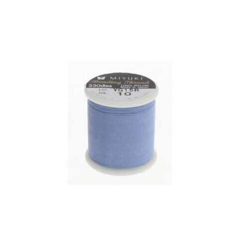 Miyuki Beading Nylon Thread 330 DTEX 50 meters Light Blue 54.6 yards