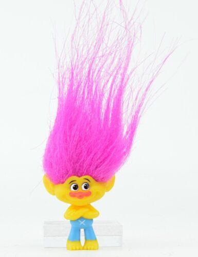 Dreamworks Trolls The Movie Series 4 Mini-Figure Yellow Skin Pink Hair