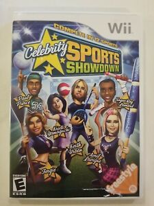 Celebrity Sports Showdown - Nintendo Wii COMPLETE TESTED FREE S/H