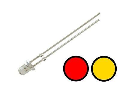 rot Lichtwechsel Loks Wendezug S669-20 Stk DUO Bi-Color LED SMD 3528 warmweiß
