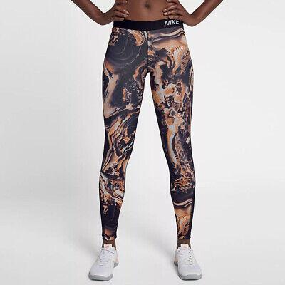 Femmes Nike Pro Coupe Étroite Corail Capri Pantalon. X Taille S 889984 827 | eBay