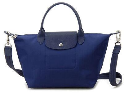 NWT Longchamp Le Pliage Neo Small Crossbody Satchel Tote Bag