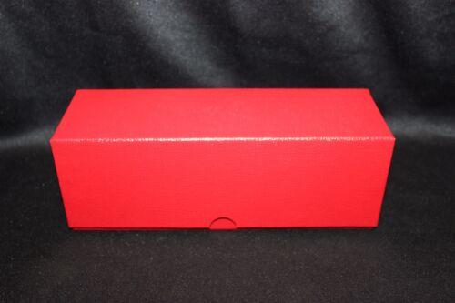 100 2½ x 2½ Coin Holder Flip 39mm Case Silver 1oz Round Coin Storage Box RED