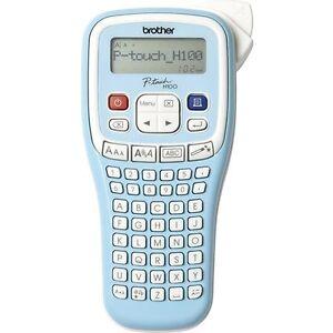 Brother P-touch PT-H100LB Beschriftungsgerät Schriftband TZ 3.5 6 9 12 6xAAA NEU