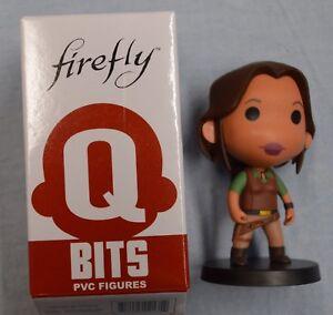 Wash Hoban Washburne Q-Bits Mini Figure Firefly Loot Crate Exclusive w// Box QMX