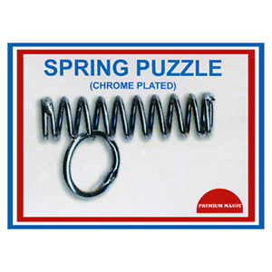 Spring Puzzle Chrome Plated by Premuim Magic from Murphy's Magic