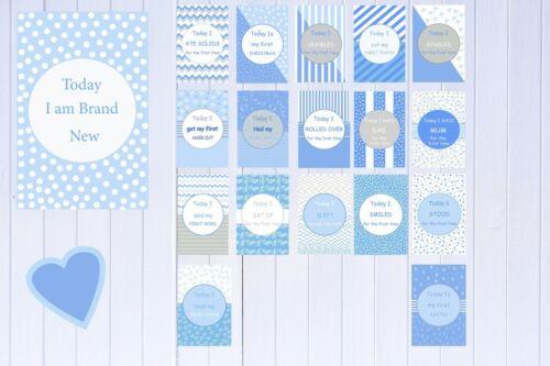 Unisex Girls Baby Milestone Cards Pack of 34 Boys Baby Shower Gift New Mum