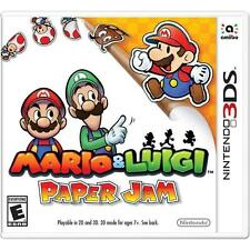 NEW Mario & and Luigi: Paper Jam (Nintendo 3DS, 2016) SEALED