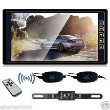 """9"""" TFT LCD Monitor+12V Car Rear View Wireless Backup Reverse Camera Night Vision"""