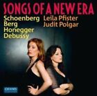 Leila Pfister/judit Polgar Songs of a Era 4260034868182 by Debussy CD
