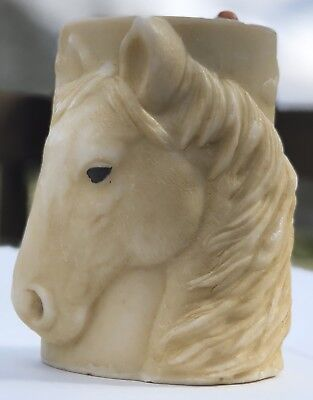 3d Horse Candle Horse Scene Pillar Tall Candle Not Scented Farm Decor