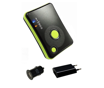 Gl-770 Logger Gnss (gps/glonass) - Set Con Alimentatore + Kfz-adattatore- Smoothing Circulation And Stopping Pains