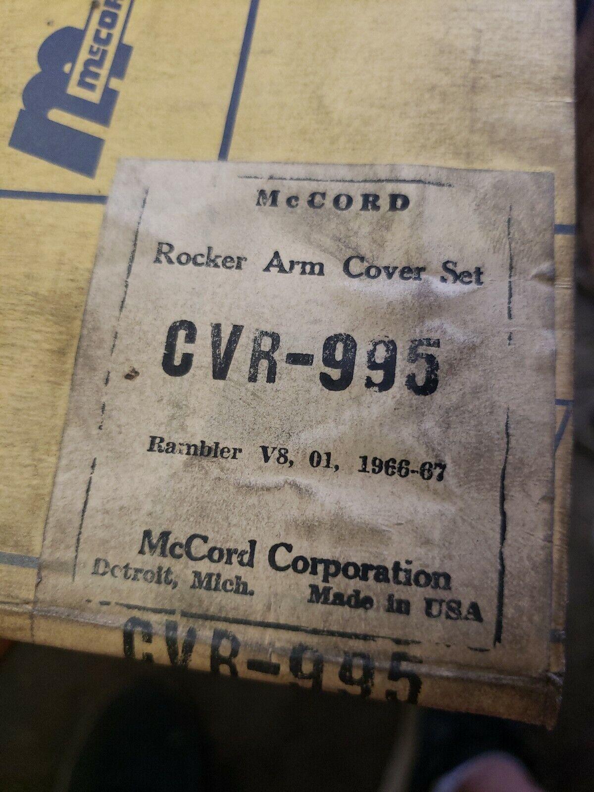 1961-1969 Corvair Valve Cover Gasket Set McCord CVR-911