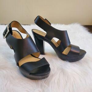 black platform sandals ebay
