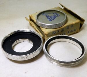 82A-Blue-Lens-filter-30-5mm-OD-drop-in-Series-5-Holder-Metal-Ring-Argus-21mm
