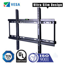 LCD LED PLASMA SLIM TV WALL MOUNT BRACKET 32 40 42 46 50 52 55 57 60 65 70