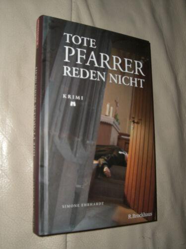 1 von 1 - Simone Ehrhardt: Tote Pfarrer reden nicht (Gebundene Ausgabe / signiert)