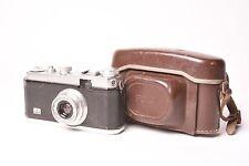 Foca Standard (1 star) camera with Oplar f/3.5 - 35mm with original case.