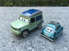 Disney Pixar Cars Miles Axlerod & Professor Z 2pcs Metal Toy Cars New Loose