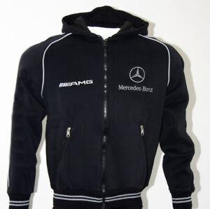 Mercedes-AMG-Capuche-Polaire-Veste-Fleece-Jacket-Blouson-Chaqueta-Giacca-Cadeau