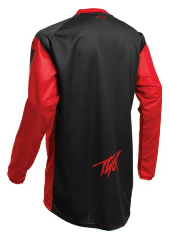 2020 THOR SECTOR link CROSS Jersey Maglia Rosso Motocross Enduro MX bmx dh mtb