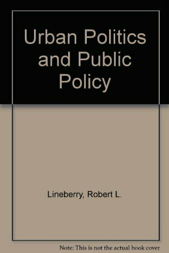 Urban politics and public policy