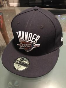 new product cc424 d1c02 Image is loading Oklahoma-City-Thunder-NBA-New-Era-59fifty-Fitted-
