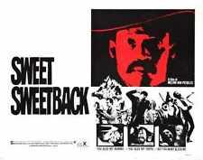 Sweet Sweetback Poster 02 A4 10x8 Photo Print