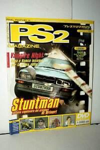 RIVISTA-PS2-MAGAZINE-NUMERO-06-MAGGIO-2001-USATA-BUONO-ED-ITALIANA-VBC-46932