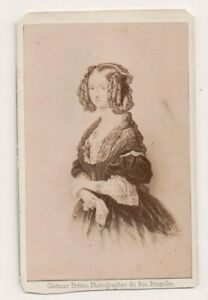 Vintage-CDV-Princess-Louise-of-Orleans-Queen-of-Belgium-Ghemar-Freres-Photo