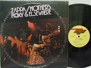 Frank Zappa Amp The Mothers Roxy Amp Elsewhere Lp Us
