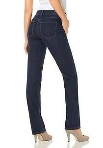 L30 Bleu femmes Angela Mac 34 Occasion denim Gr extensible 0302l Jeans Droit New en Pantalon pour RaxgwqXn