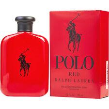POLO RED Ralph Lauren for Men 4.2oz/125ml EDT Cologne Spray * NEW & SEALED* WOW