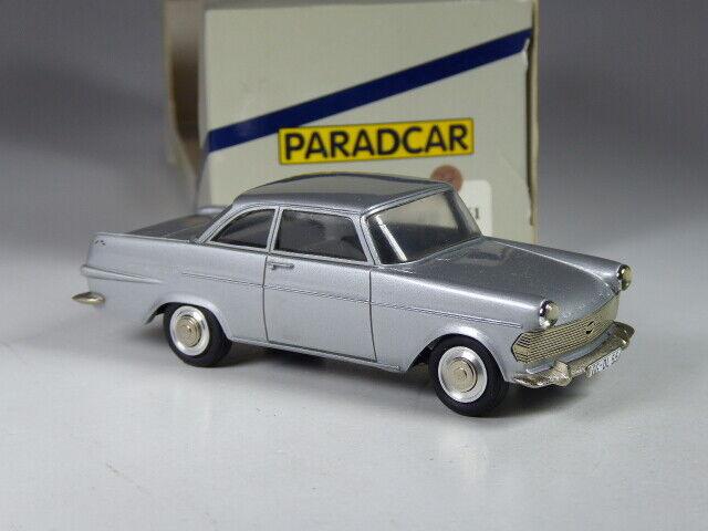 (ki-05-20) PARADvoiture France OPEL RECORD p2 Coupé  Argent 1961 in 1 43 en neuf dans sa boîte  prix raisonnable
