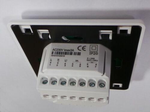 Ausgang potentialfrei #810 Raumthermostat Thermostat Digital programmierbar