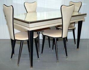 Umberto Mascagni 1950s Credenza Dining Table Chairs Sideboard Also Available Ebay