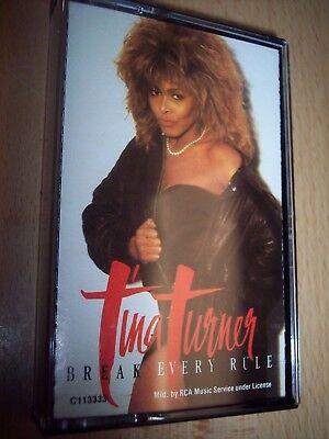 1986 Tina Turner Breaking Every Rule Cassette Met De Nieuwste Apparatuur En Technieken