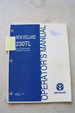 New Holland 230tl Loader Operators Manual