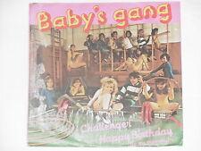 """BABY'S GANG -Challenger- 7"""" 45 Italo Disco"""