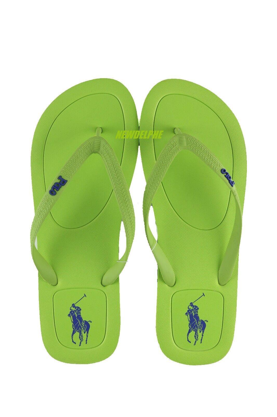 8297a0b0d95b NWT Polo Ralph Lauren Men Big Pony HALESOWEN HALESOWEN HALESOWEN Flip-Flop  Sandals Slipper Shoes 299671