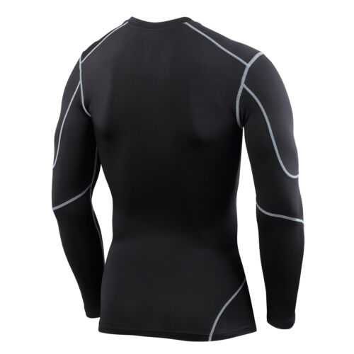 Hommes garçons tca elite compression couche de base haut thermique manches longues sous chemise